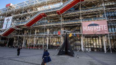France: près de 600.000 visiteurs à l'exposition Magritte au Centre Pompidou à Paris