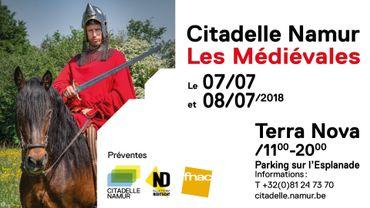 Les Médiévales de la Citadelle Namur