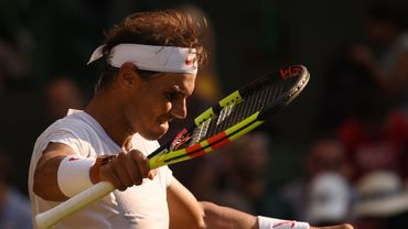Nadal en quarts de finale à Wimbledon pour la première fois depuis 2011