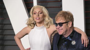 """Lady Gaga dévoile la reprise de """"Your Song"""" d'Elton John."""