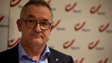 Le futur CEO de bpost Jean-Paul Van Avermaet
