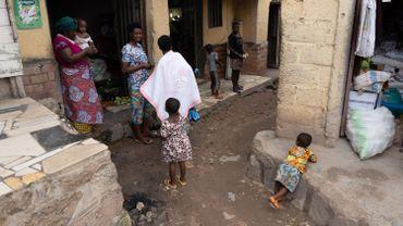Dans un quartier de Kigali