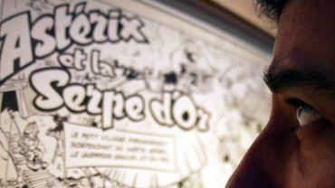 Un album original d'Astérix part pour plus de 20.000 euros lors d'enchères à Bruxelles