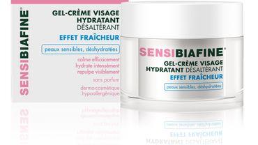 Le Gel-Crème Visage Hydratant Désaltérant de SensiBiafine