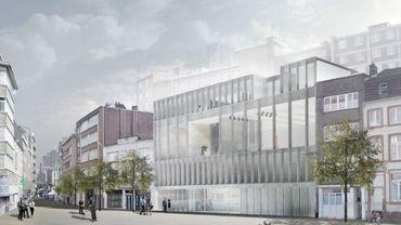 Le futur bâtiment de Médiasambre