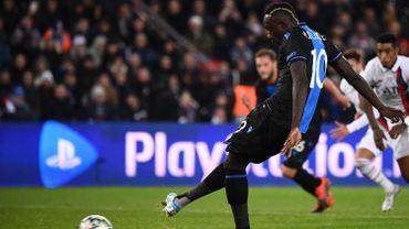 Diagne sanctionné par Bruges pour minimum un match