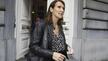 Sophie Wilmès, ministre du budget