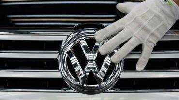 Une usine Volkswagen à Dresde, le 23 octobre 2015