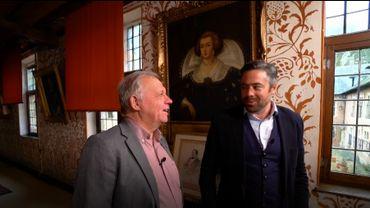 Visite privilégiée du  Château de Rixensart en compagnie du Prince Félix de Merode et de Guy Lemaire.