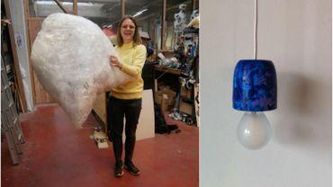 Elles transforment le plastique en lampes