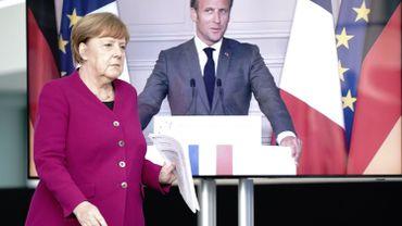 Coronavirus: appel franco-allemand à une réouverture rapide des frontières en Europe (2)