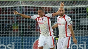 Les joueurs tunisiens