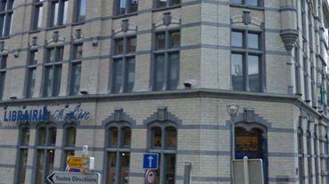 La librairie Molière à Charleroi