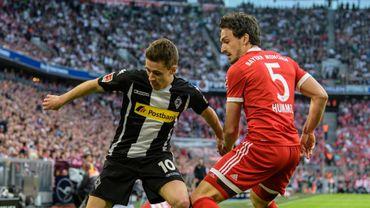 Déjà champion, le Bayern Munich punit le 'Gladbach de Thorgan Hazard