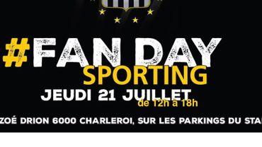 Fan Day du Sporting : une appli pour partager vos photos en direct