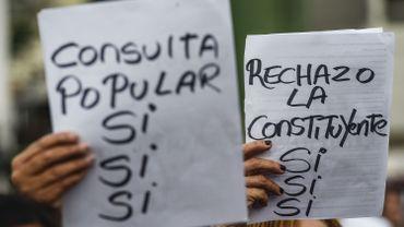 "Venezuela: un vote ""symbolique"" contre la Constituante de Maduro"