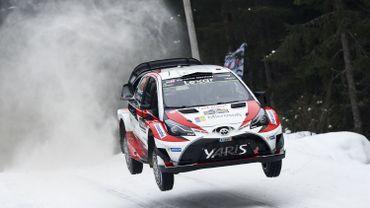 La Toyota Yaris WRC de Juho Hanninen