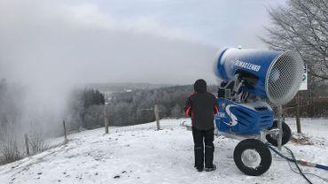 Ski Club d'Ovifat:la piste bleue est fin prête!