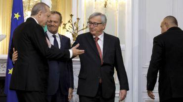 """Erdogan: """"Devenir membre de l'UE reste notre objectif stratégique"""""""