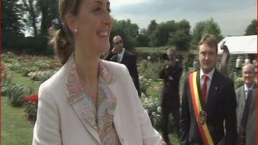La Princesse Claire au concours international des roses nouvelles au Roeulx