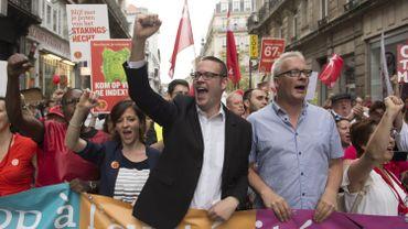 Le PTB poursuit sa folle embellie et est désormais le 2ème parti de Wallonie.