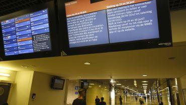 Grève SNCB: une dizaine de liaisons IC devraient circuler presque toute la journée mercredi