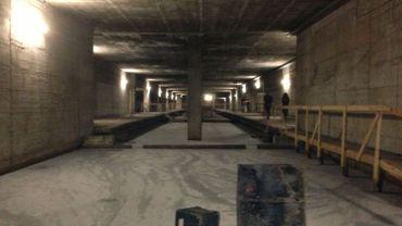 Une station de métro vide depuis près de 30 ans