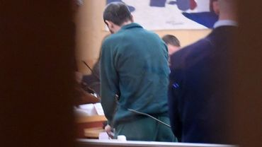 Rakhmat Akilov pendant son procès.