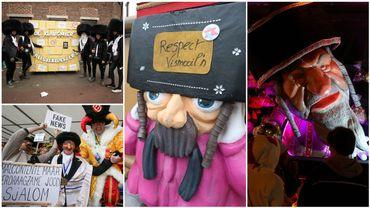 Le carnaval d'Alost de 2020 répondait aux réactions internationales suscitées après celui de 2019.