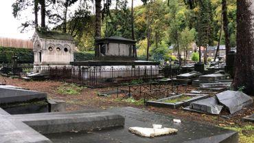 Le cimetière de la Diguette à Angleur (Liège)