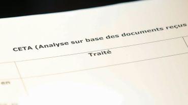 """Ce document """"répond à toutes les réserves dont M. Magnette a fait part"""", selon un diplomate européen."""