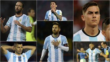 184 buts pour six joueurs, l'Argentine impressionne offensivement