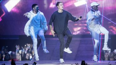 Justin Bieber en concert à Copenhagen, le 2 octobre 2016