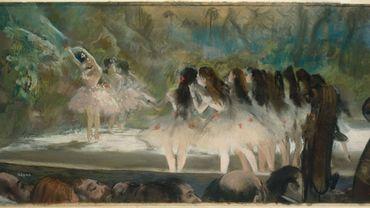 Edgar Degas - Ballet à l'Opéra de Paris