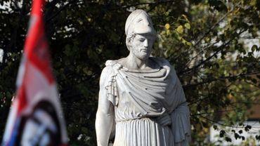 Statue de Périclès, à Athènes