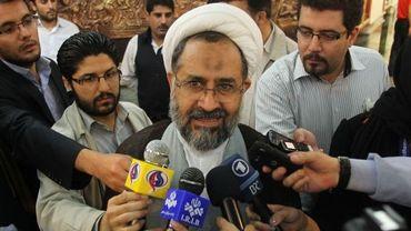 Heidar Moslehi, ministre iranien du renseignement