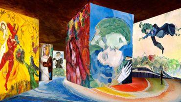 """Simulation #1, """"Chagall, Songes d'une nuit d'été"""""""
