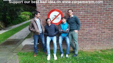 Quatre jeunes Belges vont traverser ce dimanche la Manche à la nage en soutien aux réfugiés