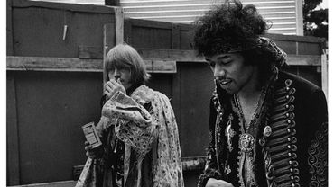 La photo du jour: Brian Jones et Jimi Hendrix