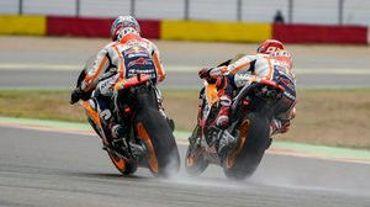 #JapaneseGP MotoGP FP1: Marquez au-dessus du lot sur l'eau
