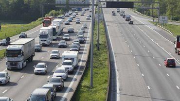 La E40 entre Louvain et Bruxelles entièrement rouverte à la circulation dès lundi