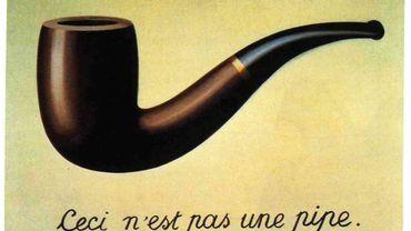 """Il y a 50 ans disparaissait René Magritte, maître du surréalisme belge qui demandait: """"Qui est capable de fumer la pipe que j'ai peinte? Personne, donc ceci n'est pas une pipe""""."""