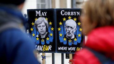 Brexit: Rencontre May-Corbyn pour tenter de sortir de l'impasse