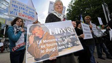 Manifestation contre l'intervention militaire en Libye