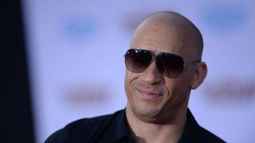 """L'acteur américain Vin Diesel va produire, par ailleurs, le 8e volet de la série """"Fast & Furious"""""""