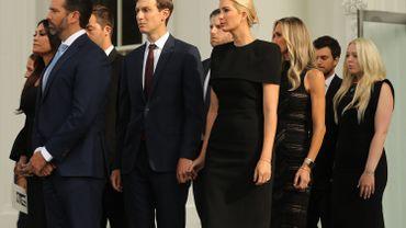 Le clan Trump ou les soutiens (presque) indéfectibles d'un président en campagne