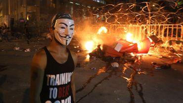 Les Libanais sont descendus dans la rue pour dénoncer la crise des ordures