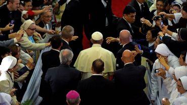 """Le pape pourfend la corruption et les idéologies qui finissent """"toujours en dictature"""""""