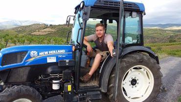 A 22 ans, ce jeune amaytois, installé en France depuis trois ans, produit son propre vin