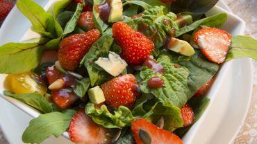 Méli-mélo fraîcheur et ses fraises